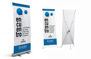 Roll-up y X-banner